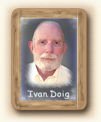 Author Ivan Doig