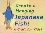 Create a Japanese Hanging Fish!