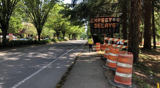 Construction Activities Begin Ramping Up Next Week
