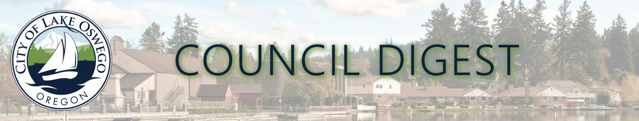 Council Digest