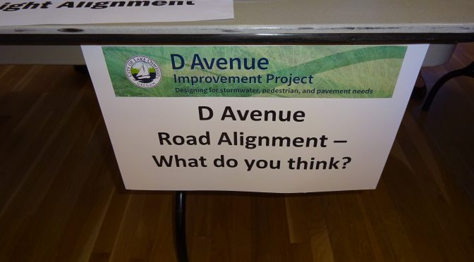 First D Avenue Project Open House a Success!