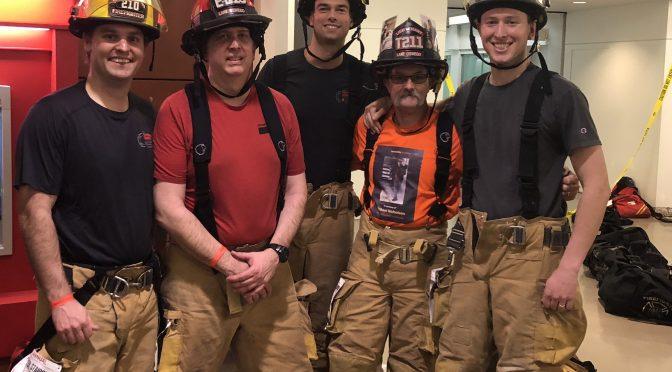 Firefighters climb 69 floors in Seattle