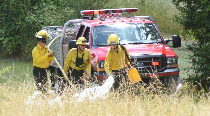 High Heat Brings the Danger of Fires
