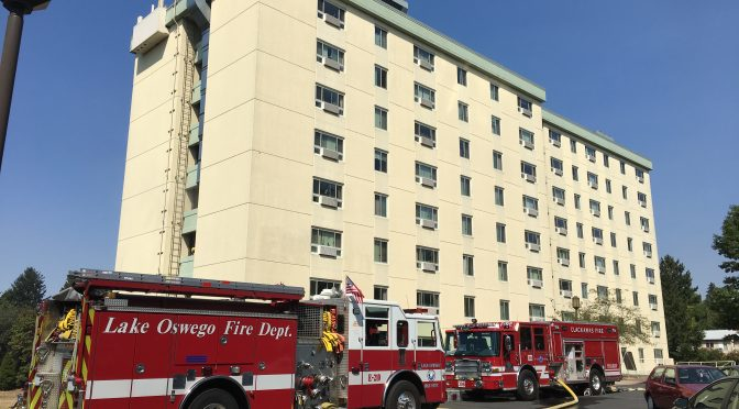 Firefighters Trained for High Rise Building Fires