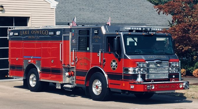 New Engine 212 Placed in Service