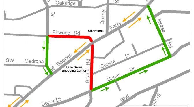 Bryant & Firwood Weekend Road Closure 11/6 – 11/9