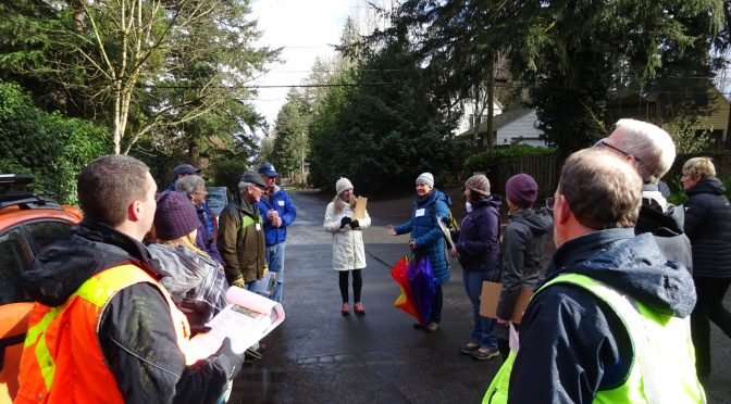 Great Participation During Recent D Avenue Neighbor Walking Tours