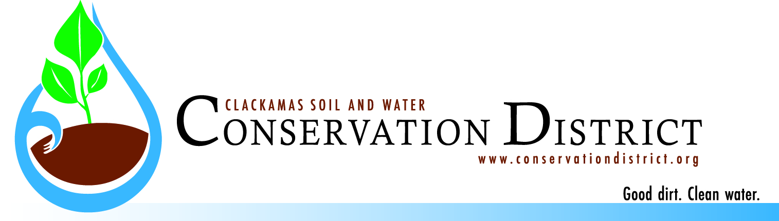 Clackamas County Soil & Water Conservation District logo