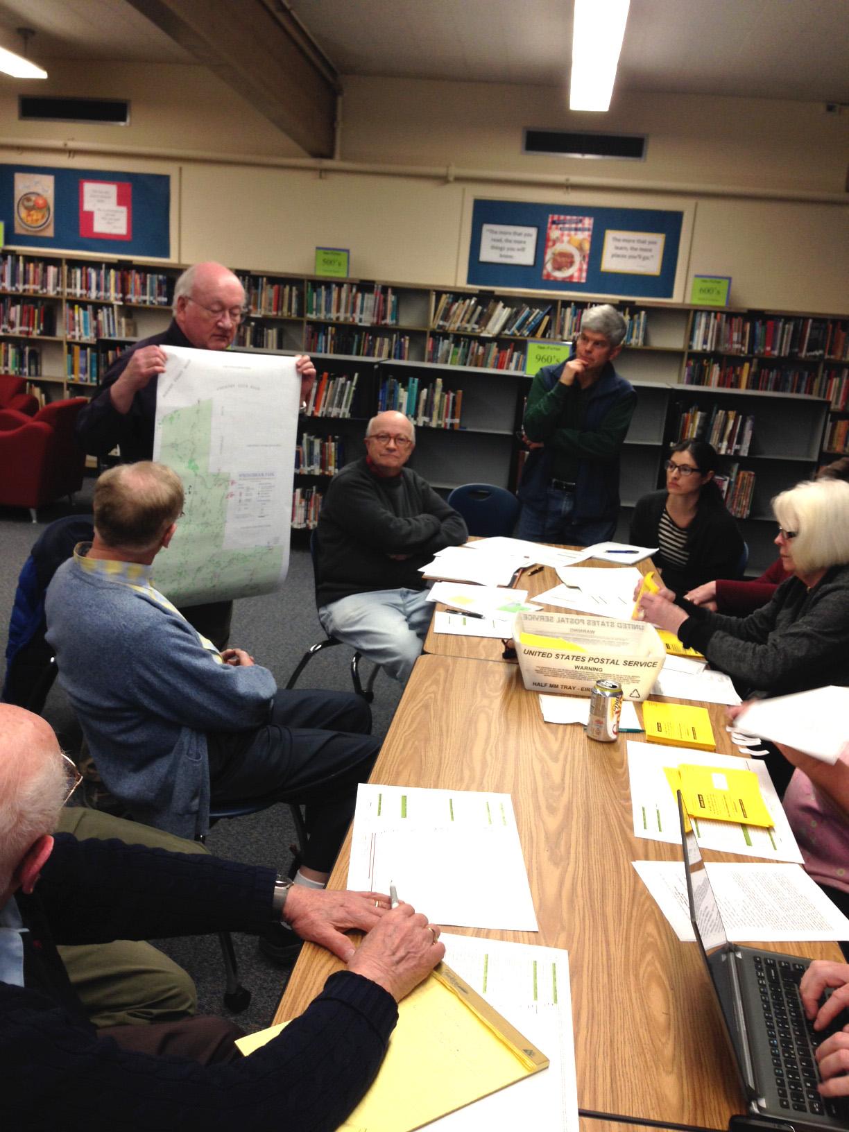 Uplands Neighborhood Board works on the neighborhood plan