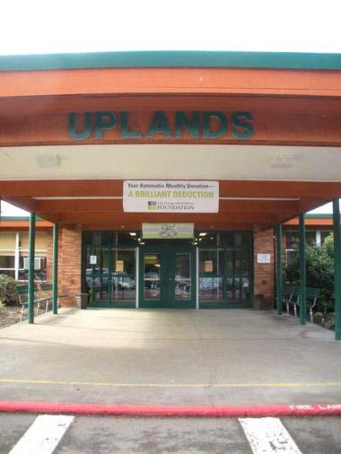 Uplands School Building