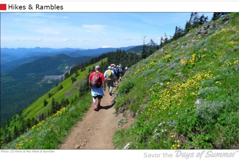 Hikes & Rambles by LO Parks & Rec