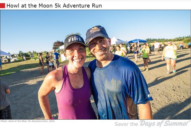 Howl at the Moon 5k Adventure Run