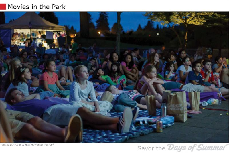Lake Oswego Movies in the Park