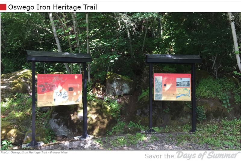 Oswego Iron Heritage Trail