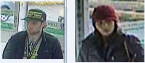 Male and Female suspects