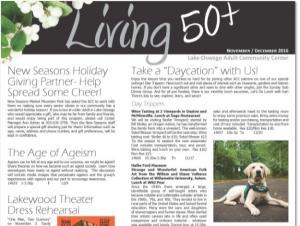 Living 50+ Newsletter
