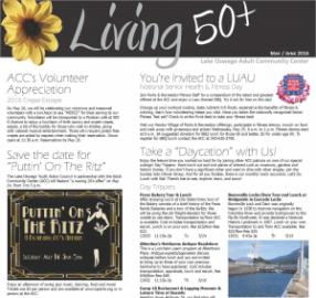 Living 50+ Newsletter