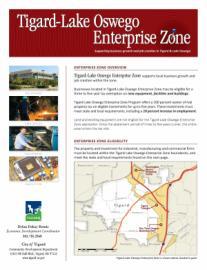 Tigard/Lake Oswego Enterprise Zone