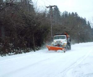 Lake Oswego winter snow storm 2008