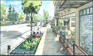 Boones Ferry Road Concept Drawing