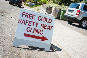 City of Lake Oswego Car seat clinic