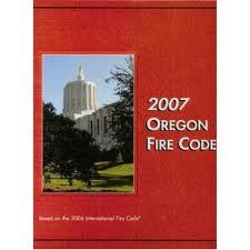 2007 Oregon Fire Code