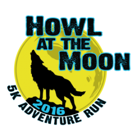 Howl at the Moon 5K Adventure Run Logo