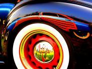 Reflections at Car Show by Duane Denson