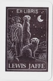 Mammals by Moonlight:  Bookplate Illustration
