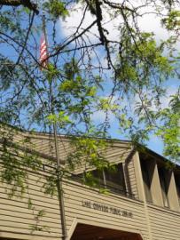 Outside of Lake Oswego Public Library building