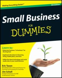 Small Business for Dummies book cover