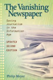The Vanishing Newspaper book cover