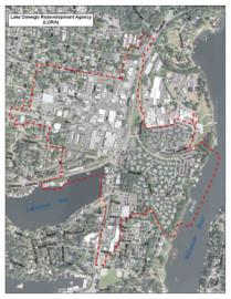 Lake Oswego Redevelopment Agency Map