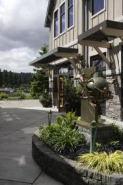 Lake View Village Sculpture