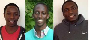 Emmanuel Habimana, Matthew Rugamba, Guellord Ndagijmana