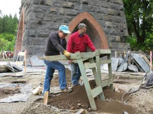City of Lake Oswego Rick Minor and Julie Ricks Architectural dig at Furnace
