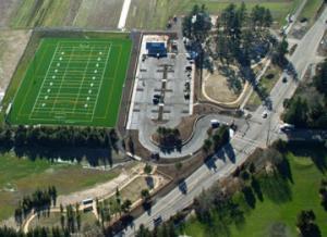 Hazelia Field Aerial photo