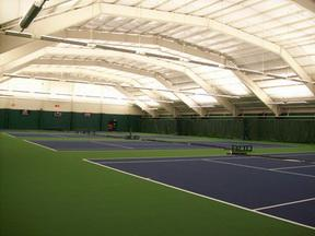 Tennis Courts Resurfaced photo