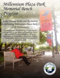 Millennium Plaza Park Bench Replacement Program Cover