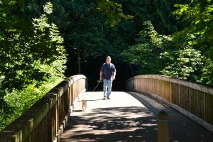 Bridge at George Rogers Park