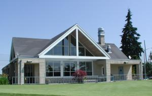 Golf Course Pro Shop and Clubhouse