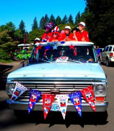 Lake Oswego Star Spangled Parade - by Chris Thompson