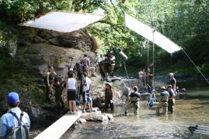 Filming movies in the Portland area