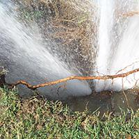 Water Line Break