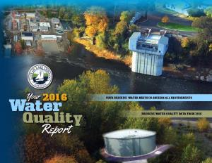 2015 Water Quality Report Cover