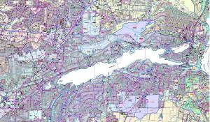 City of Lake Oswego Surface Water Map
