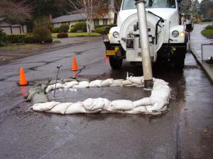 City of Lake Oswego containing overflow