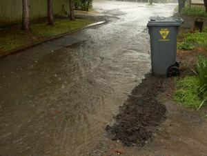 Showing the need for stormwater management