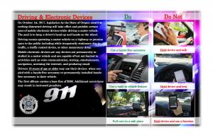 Oregon Distracted Driving Law Reference Guide