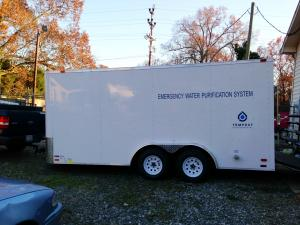 City Receives Emergency Mobile Water Purification System